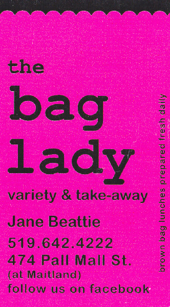 THE BAG LADY VARIETY & TAKE-AWAY